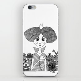 The Frog King revisited iPhone Skin