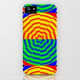 Digital Sunrise iPhone Case