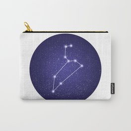 Leo zodiac constellation Carry-All Pouch