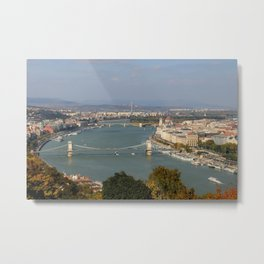 From Buda to Pest Metal Print