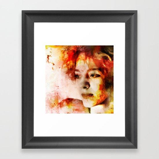 Just Yesterday Framed Art Print
