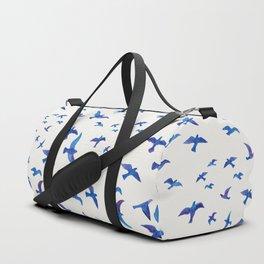 Blue Birds Duffle Bag