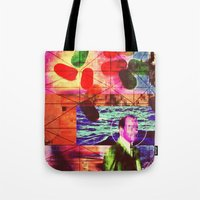 whatever Tote Bags featuring Whatever by Alec Goss
