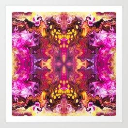 Vandalized Art Print