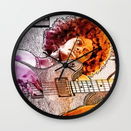 FAR AWAY (featuring source photography by Antonia Jenae') Wall Clock