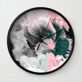 Hazy Daisy Wall Clock