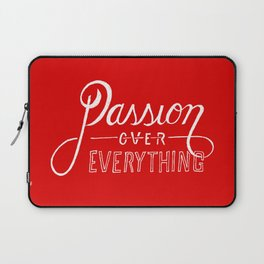 Passion Over Everything Laptop Sleeve
