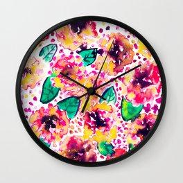 Posie Wall Clock