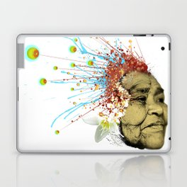 """Gabriela"" of the Kaweskar People - Color Laptop & iPad Skin"