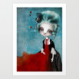 Vive La Republique! Art Print