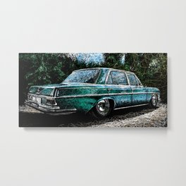 The Color Scribble Merc Metal Print