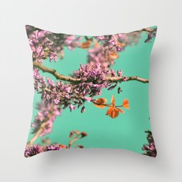 Spring Color of Revolution Throw Pillow