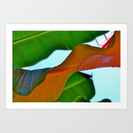 GreenWave Art Print