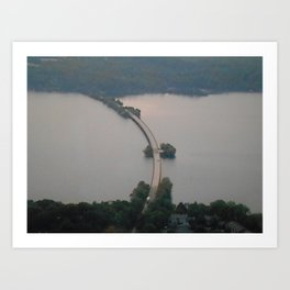 Lake Heartwell Art Print