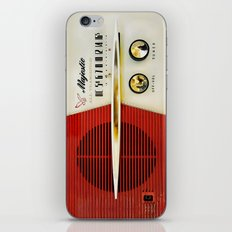 Classic Old Vintage Retro Majestic radio iPhone 4 4s 5 5c 6, ipad, pillow case, tshirt and mugs iPhone & iPod Skin