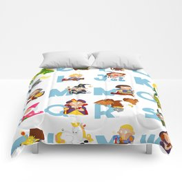 ABC  medieval (english) Comforters