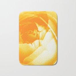 Golden Roses Bath Mat