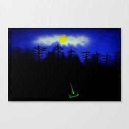 Piilossa Tulipalo/Hidden Fire Canvas Print