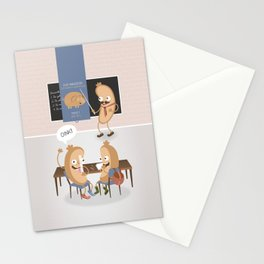 History class Stationery Cards