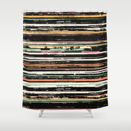 Recordsss Shower Curtain