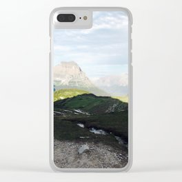 Glacier National Clear iPhone Case