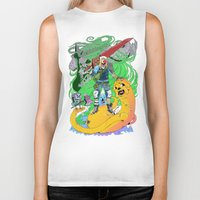 finn and jake Biker Tanks featuring Finn & Jake by Rob S
