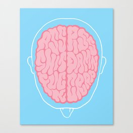 Dirty Mind Canvas Print