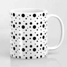 Black&white dots Coffee Mug