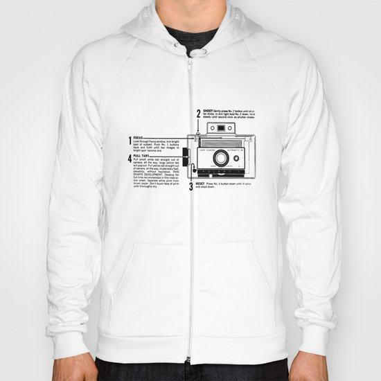 Polaroid Land Camera  Hoody