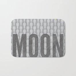 Moon Minimalist Poster Bath Mat