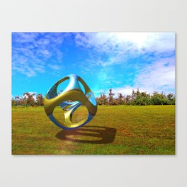 Apple Orchard Abstract Canvas Print