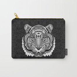 tiger face aztec pattern iPhone 4 4s 5 5c 6 7, pillow case, mugs and tshirt Carry-All Pouch
