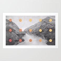 A Slow Fade Art Print