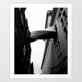 Skybridge Art Print
