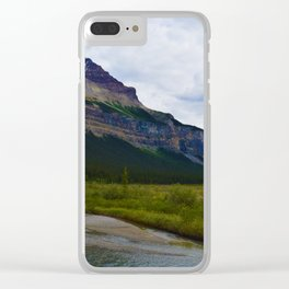 Tangle Ridge in the Columbia Icefields area of Jasper National Park, Canada Clear iPhone Case