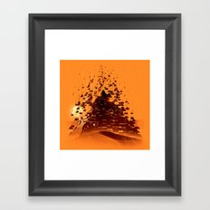Construction of a Pyramid Framed Art Print