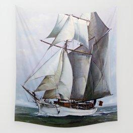 La Belle Poule Wall Tapestry