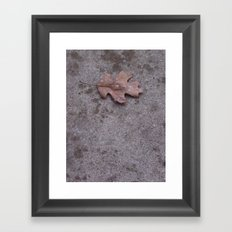 Their Final Place In Earth Framed Art Print