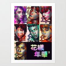 BTS Epilogue Poster Art Print