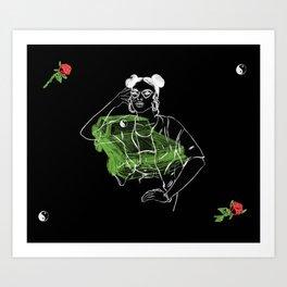 Roses Really Smell Like... Art Print