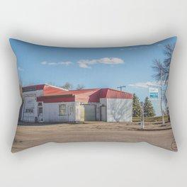 Garage, Goodrich, North Dakota Rectangular Pillow