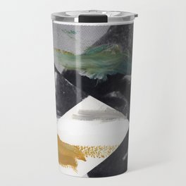 Untitled (Painted Composition 2) Travel Mug