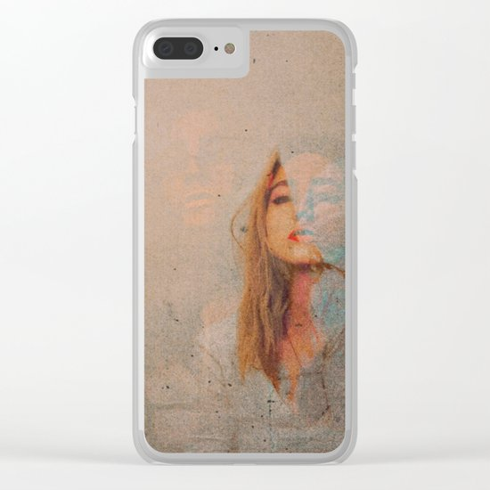 The Evil Inside of Us Clear iPhone Case
