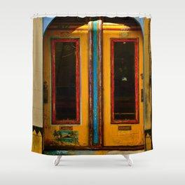 Doors on Haight Shower Curtain