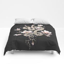 Magnolia and Serpent Comforters