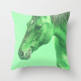 Mint Sugar Throw Pillow