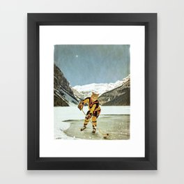 """The Vancouver """"Cat""""nucks Framed Art Print"""