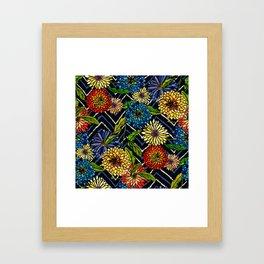 Chrissy Flowers Bohemian Framed Art Print