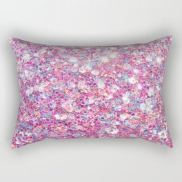 Twinkle Pink Rectangular Pillow