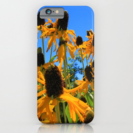 Yellow Flowers iPhone & iPod Case